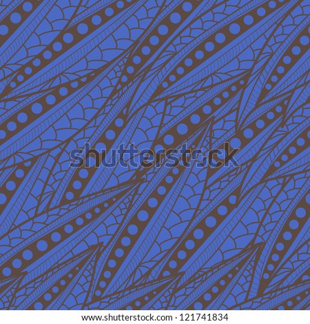 Bright seamless vector texture with abstract pattern