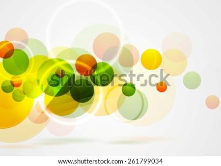 Bright summer geometric background. Vector design - stock vector