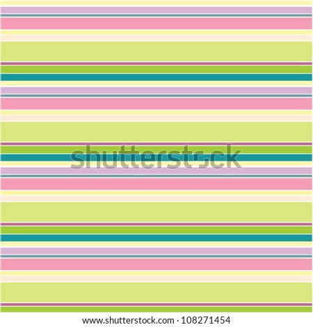 Bright summer seamless wrapping pattern with lines