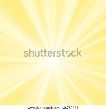 Bright yellow vector background. - stock vector