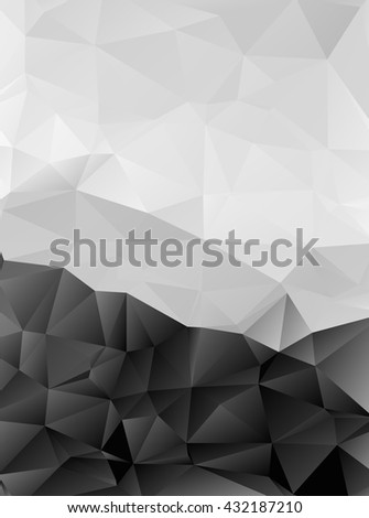 Brilliant color designed low-poly or polygonal triangular mosaic background , Vector illustration. For your several projects design in any media and concept idea. - stock vector