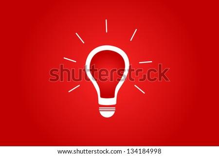 Brilliant Idea Concept - stock vector