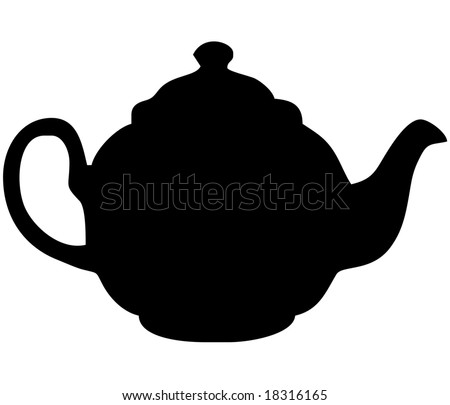 Silhouette Of A Teapot Stock Images Royalty Free Images