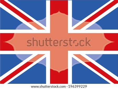 British Flag Frame Stock Vector 196399229 - Shutterstock