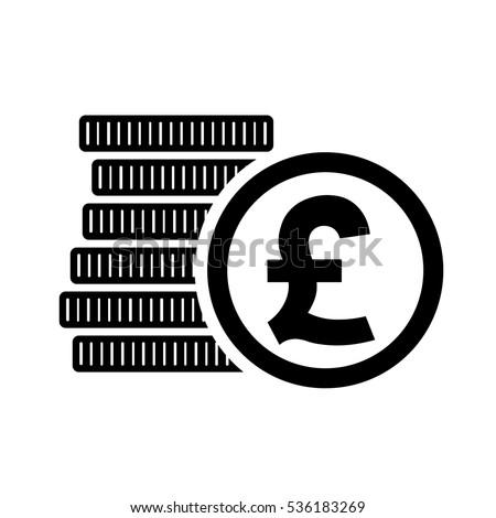 British Pound Money Coins Sign Gbp Stock Photo Photo Vector