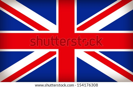 british union jack flag - stock vector