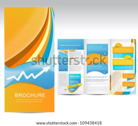 Brochure - stock vector