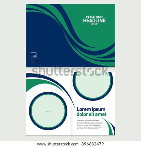 Brochure cover inner pages design template stock vector 396632479 brochure cover and inner pages design template abstract background with geometrical pattern presentation slides accmission Image collections