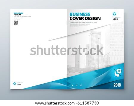 Brochure Cover Design Corporate Business Template Stock Vector