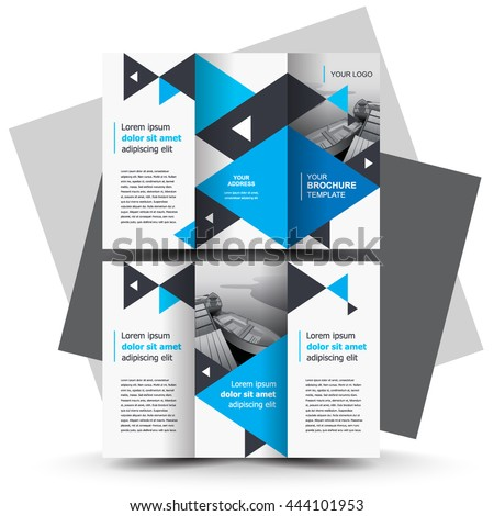 Brochure Design Business Brochure Template Creative Stock Photo