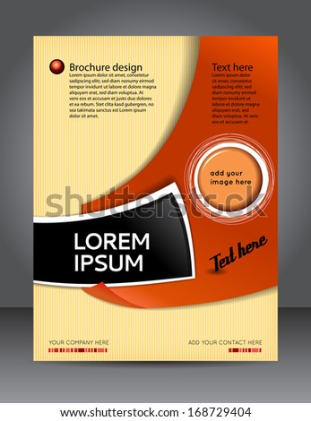 Design content background design layout template stock vector