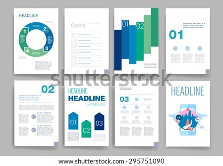 Uix stock images royalty free images vectors shutterstock for Web brochure templates
