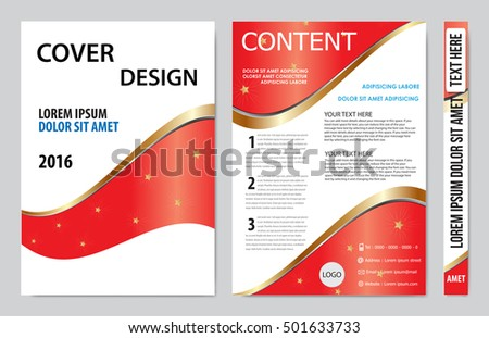 Brochure design template vector. Flyers annual report business magazine poster.Leaflet cover book presentation with abstract design background. Layout in A4 size.illustration.
