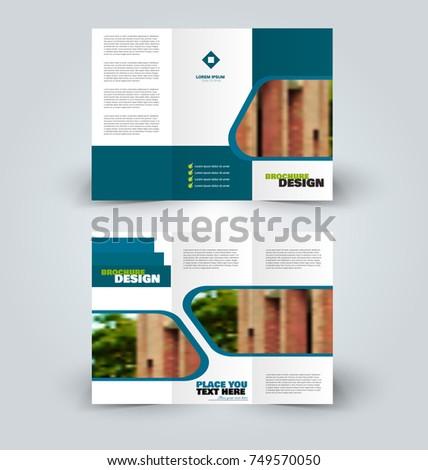 Brochure template business trifold flyer creative stock vector brochure template business trifold flyer creative design trend for professional corporate style vector saigontimesfo