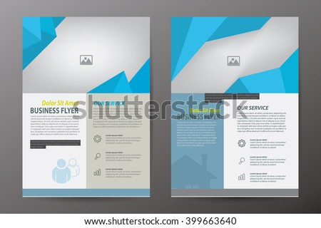 Brochure template design,flyer,booklet,report cover,A4 vertical Size,