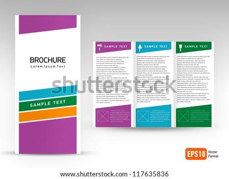 tri fold design templates