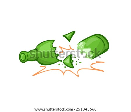 Broken Glass Pieces Stock Images, Royalty-Free Images & Vectors ...