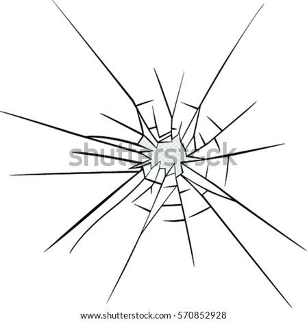 broken glass effect hole broken glass stock vector royalty free rh shutterstock com broken glass victorious lyrics broken glass vector png