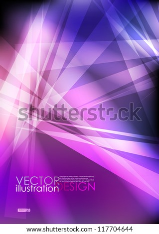 Broken glass texture. Vector illustration. Eps 10. - stock vector
