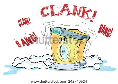 Broken Washing Machine Stock Images, Royalty-Free Images ...