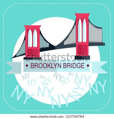 Brooklyn Bridge Stock Vectors & Vector Clip Art | Shutterstock