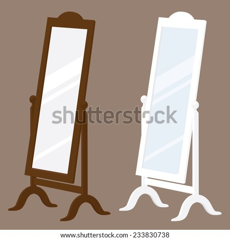Standing Mirror Stock Images Royalty Free Images