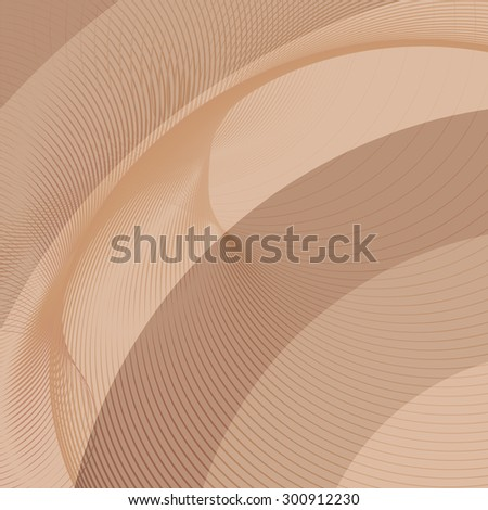 Brown background with diagonal stripes. Horizontal minimal backdrop. Can be use for cover catalogs, business card or other print. Vector version - stock vector