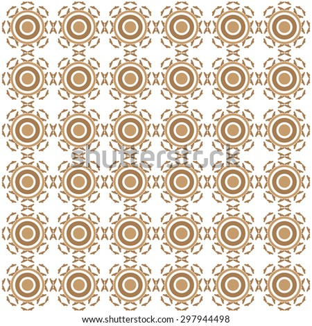 brown circle pattern elbow