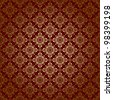 brown geometric texture with radial gradient - vector - stock vector