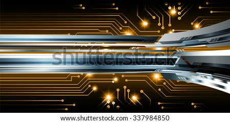 brown illustration of technology internet network computer background with binary number, style. infographics. Information. motion blur. pixel. Binary digit. number. vector. silver - stock vector