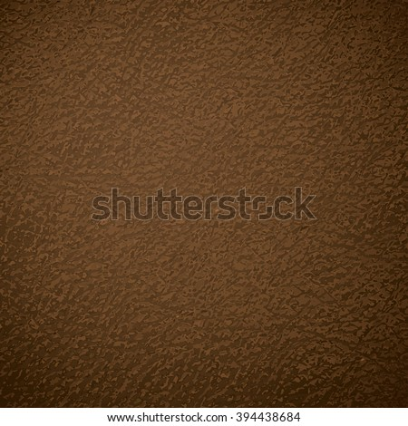 Brown leather cover background. Eps 10 vector file.