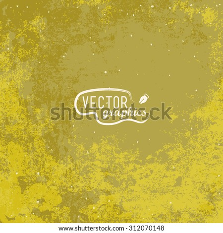 Brown paper texture. Vector background - stock vector