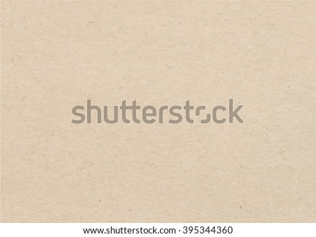 Brown recycled paper texture background, Brown paper, recycle paper, paper vector - Vector EPS 10 - stock vector