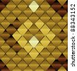 Brown seamless pattern look like lizard skin - stock