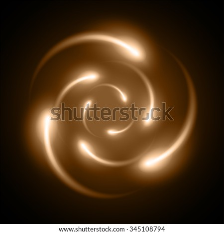 brown Shining atom scheme. Vector illustration. dark background. digital. infographics. Abstract Technology background for computer graphic website internet and business. circuit. - stock vector