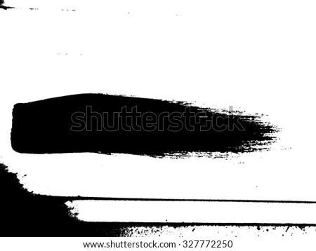 Brush Stroke Overlay Distress Grunge Dirty Grain Vector Texture ,