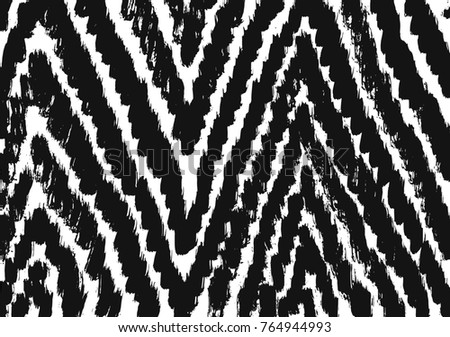 Brush stroke pattern. Background.