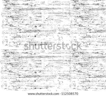 Brush texture - stock vector