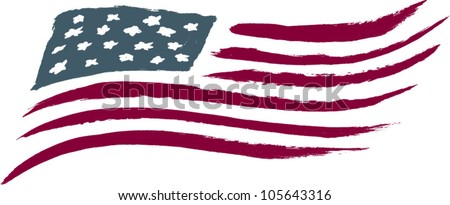 brushed american flag graphic stock vector 105643316 shutterstock rh shutterstock com american flag graphic design american flag graphics free