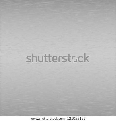 Brushed metal gray vector background - stock vector