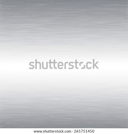Brushed metal texture background - stock vector