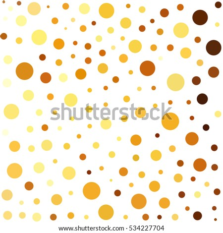 Bubbles, dots or circles background. Abstract geometric funny colored pattern for your design.