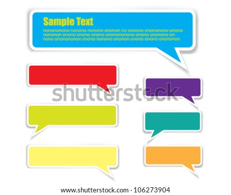 Bubbles isolated on white background - stock vector