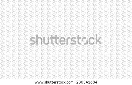 bubbles pattern background - grey - stock vector