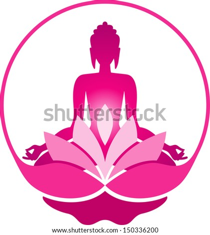 Buddha in a lotus position  sc 1 st  Shutterstock & Silhouette Buddha Lotus Position Stock Vector 150135296 - Shutterstock islam-shia.org