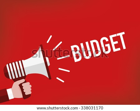 Budget - stock vector