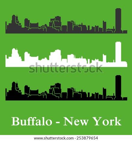 Buffalo, New York - stock vector