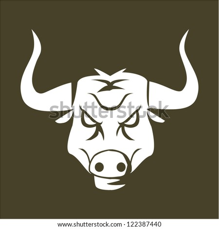 buffalo sign - stock vector