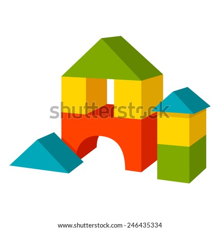 Plastic block stock images royalty free images vectors for Plastic building blocks home construction