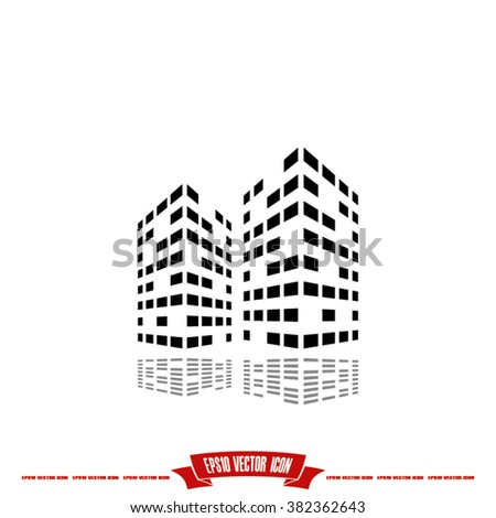 Building Icon Vector.